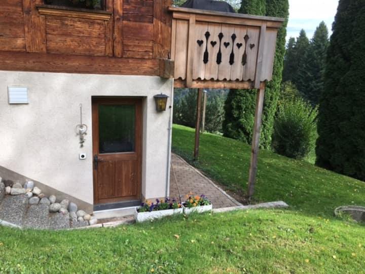 1-Zimmer Studio Wohnung auf dem Bauernhof