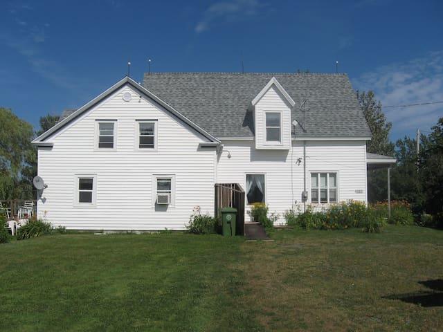 Century Old Farmhouse on Northumberland Strait