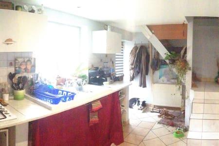 Maison duplex cosy dans les vignes. - Lozanne - Ház