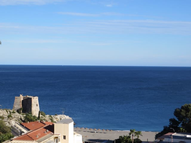 GRANADA, SEA AND MOUNTAINS VIEWS. - Almuñécar - Appartement