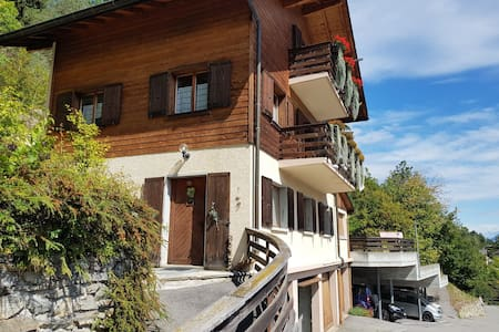 Martigny region - Nice apartment with terrasse