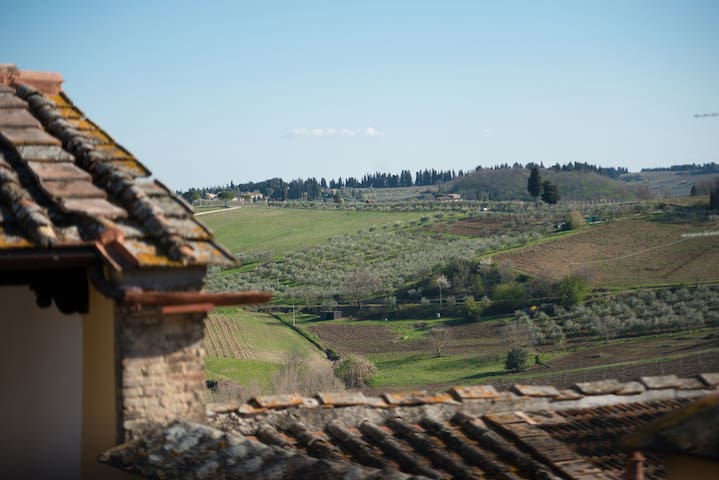 3bedrooms in the hills of Chianti - Montespertoli - Huis