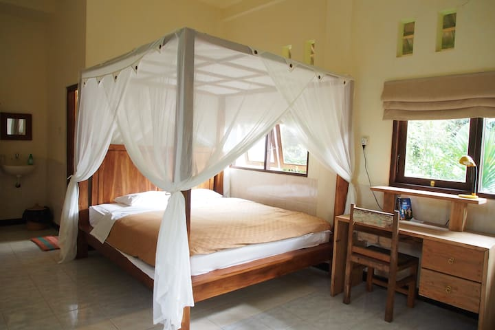 Quiet private nest with a kitchen in the jungles 1 - Ubud - Wohnung