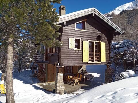 Alpes Suíços: Chalé perto do Grand St-Bernard