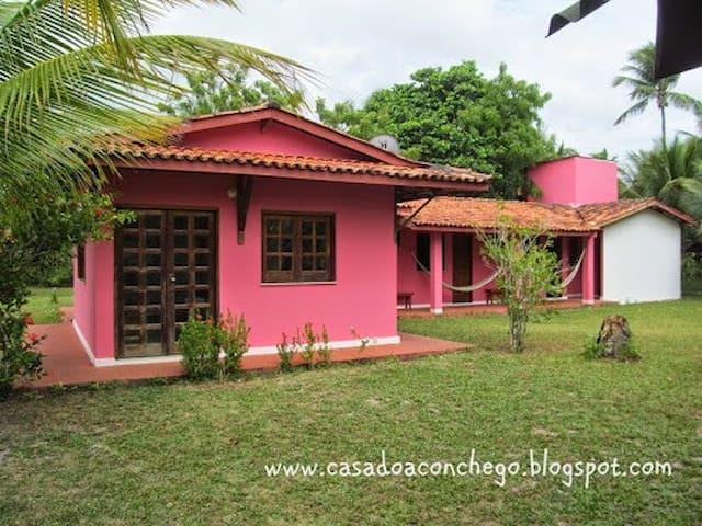 Casa do Aconchego, Barra de Serinhaém-Ituberá_BA