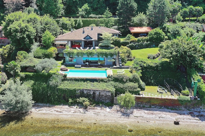 Stylish villa with pool by the lake! - Villa Isa