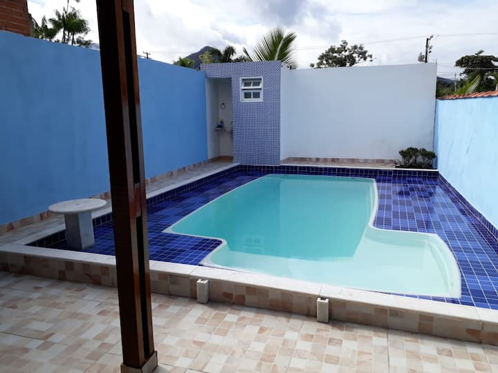 Home Beach Massaguaçu Casa com piscina  100MTpraia