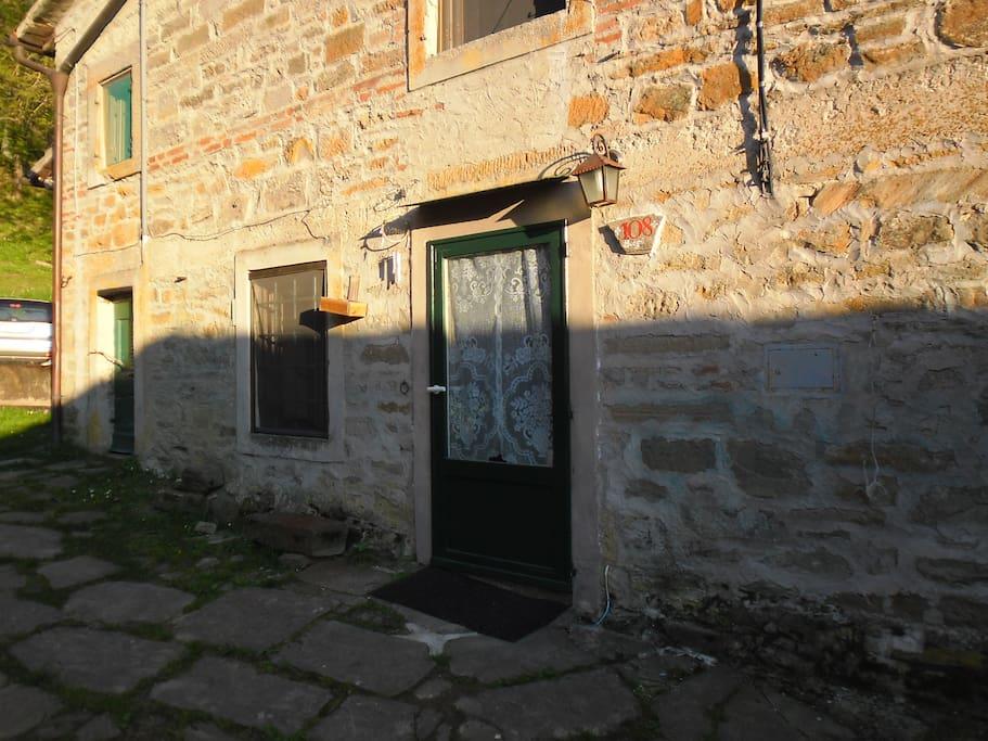 la porta di ingresso