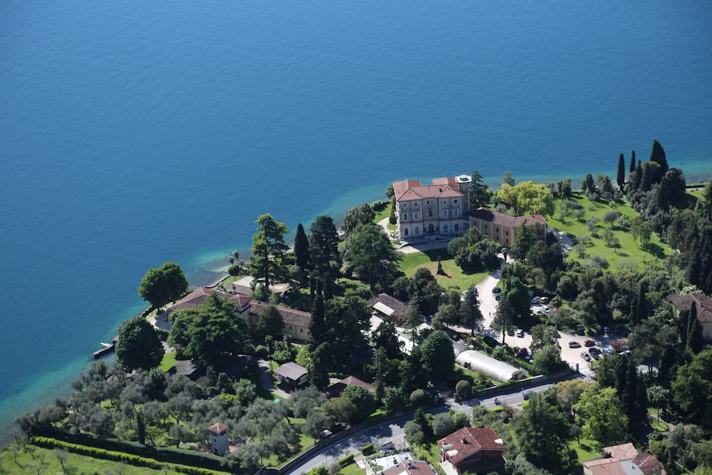 Our villa neighbours that of of 1800 politician Zanardelli