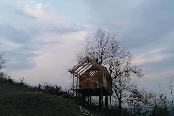 Treehouse on eco estate under Bjelasica mountain