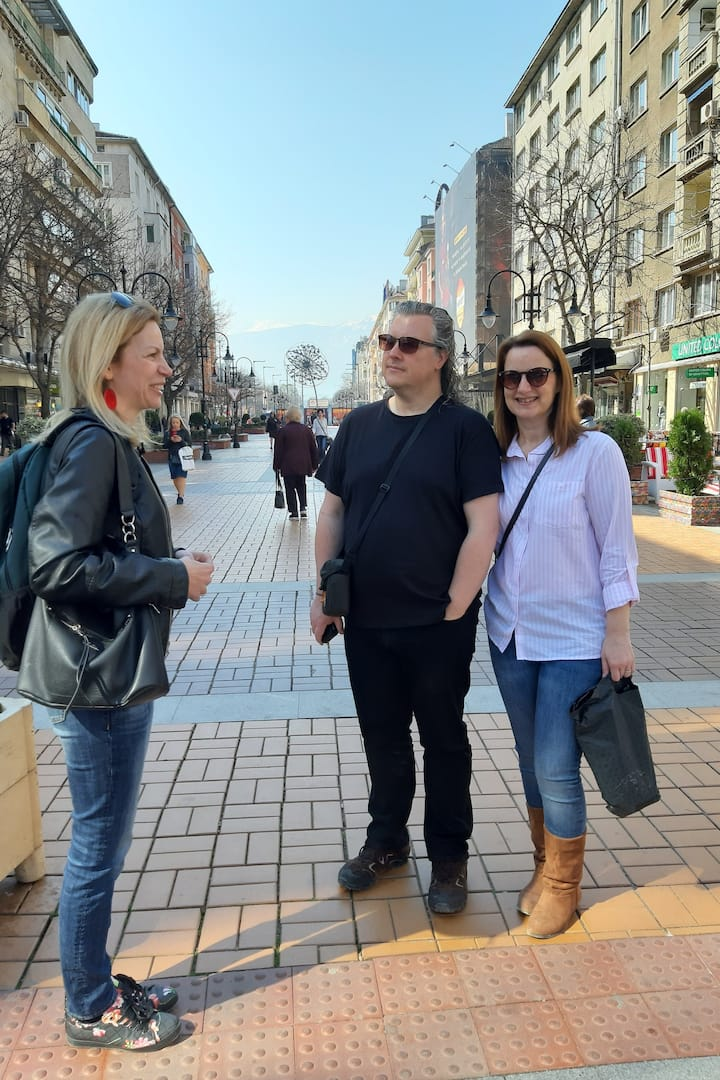 At Vitosha Boulevard
