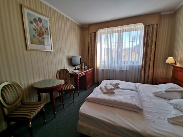 Przytulny pokój 2-osobowy z widokiem na góry
