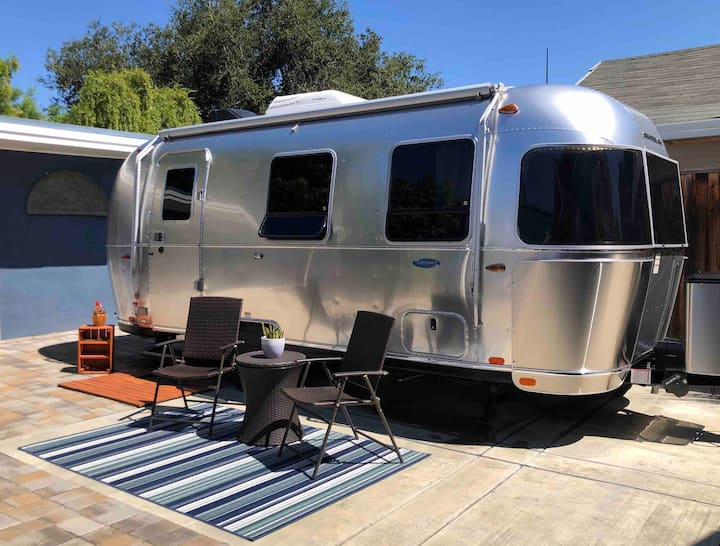 Airstream in the Heart of San Jose