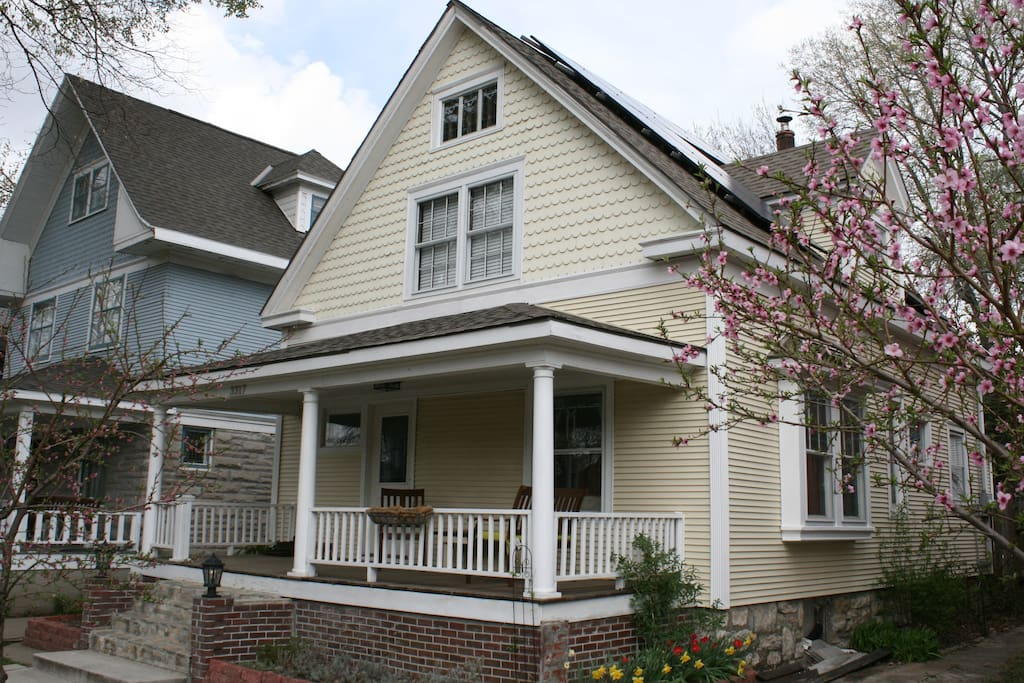 Eco Friendly Elm Cottage In Historic Hyde Park Houses