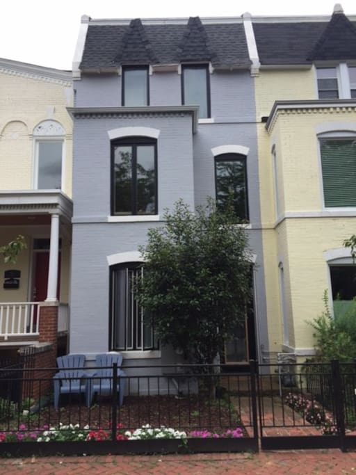 Newly renovated DC row house