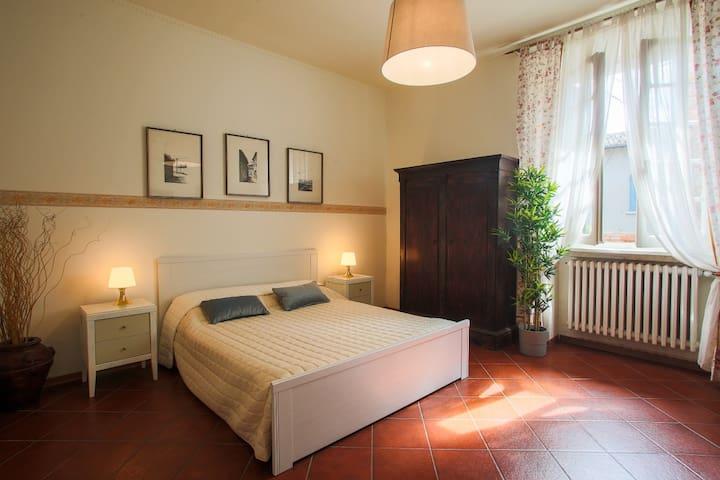 Villa Turchi, relax e nobiltà in un antico borgo.