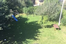 SummertimeThe favourite place of the children is the garden