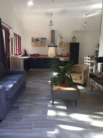 Maison neuve à La Hume de 2 à 6 personnes