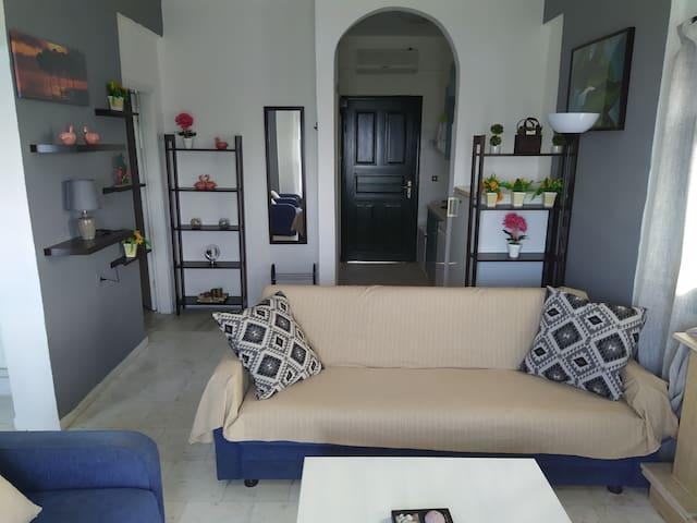 Апартамент для 4 человек  с видом на море