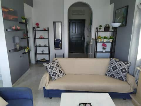 Apartment for 4 persons with sea view