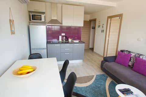 Fantasy Apartment 2+1, Couples Getaway,FreeParking
