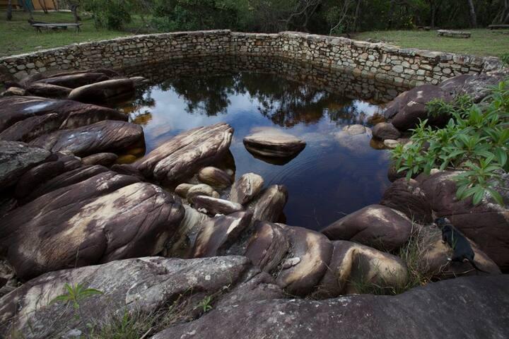 Ranchão Água Fria - Conforto, rusticidade, beleza