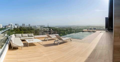 Soha Panorama Lovely 1-bedroom apartment with pool