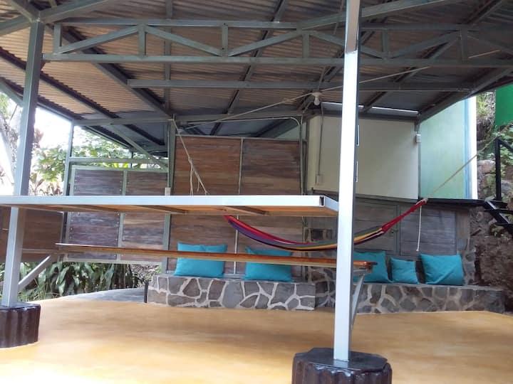 La maison du potager sous les tropiques