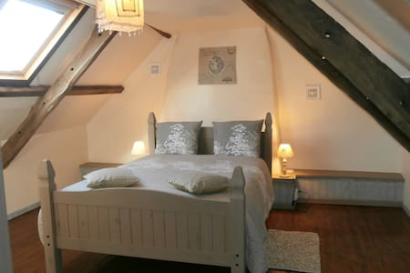 Chambre Agathe 2 pers  Maison Ty Houarn - Le Croisty - Bed & Breakfast