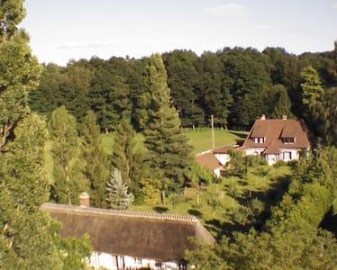 Grande propriété avec tennis et bois - Serquigny - Haus