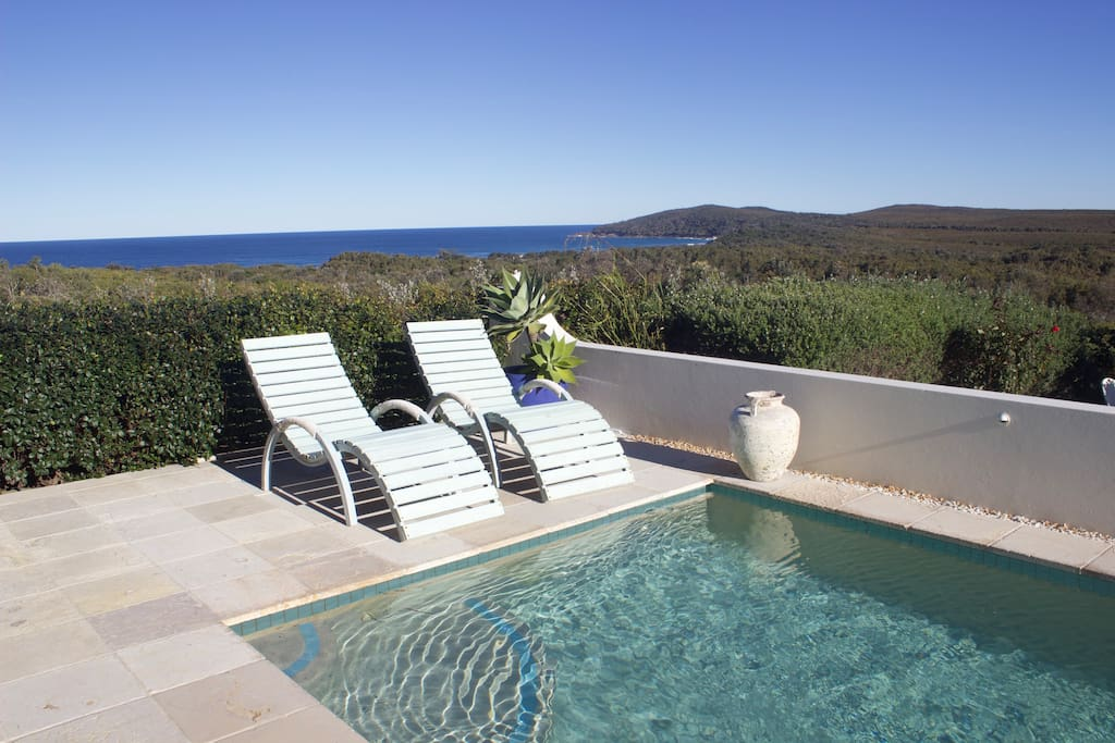 Private Pool with amazing views