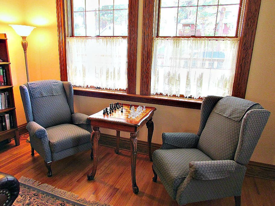 Chess in Living Room
