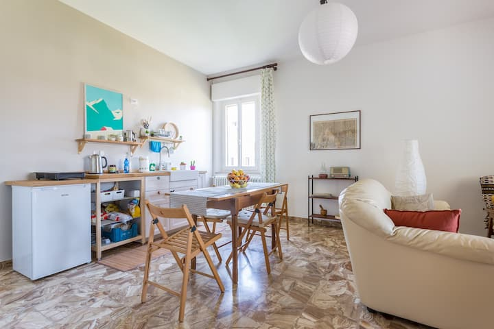 Comfy and bright apartment near Assisi