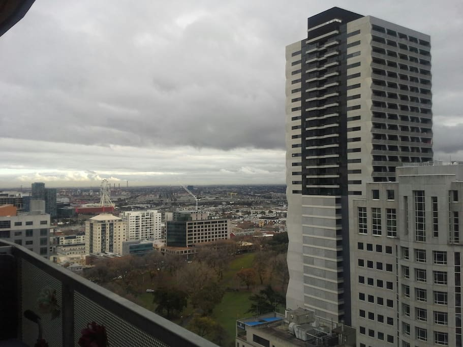 Look at the nice Melbourne weather! :)