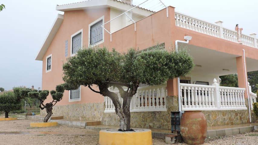 Casa Rural Mas. Piscina privada. Familias - Alicante - Chalet