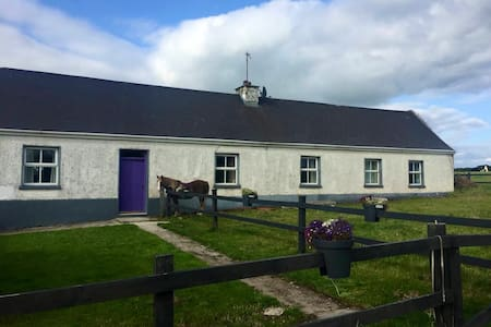 Traditional Irish Cottage by The Wild Atlantic Way