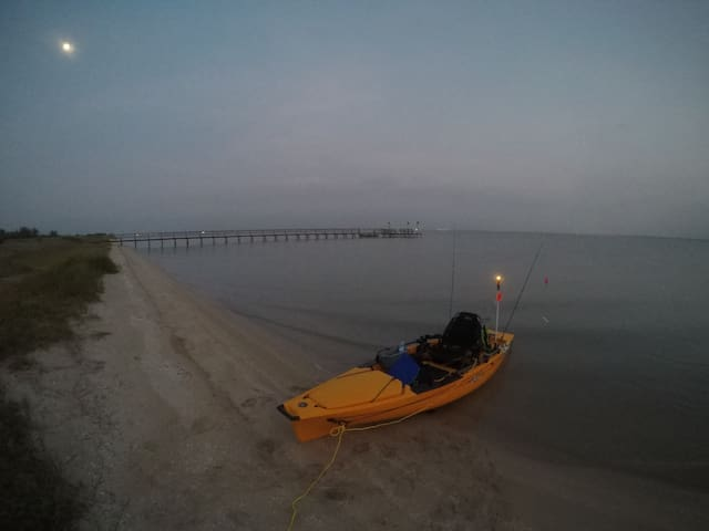 Experience fishing Baffin Bay from Hobie kayaks