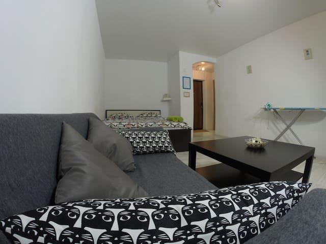 Taganka apartment on Mezhdunarodnaya