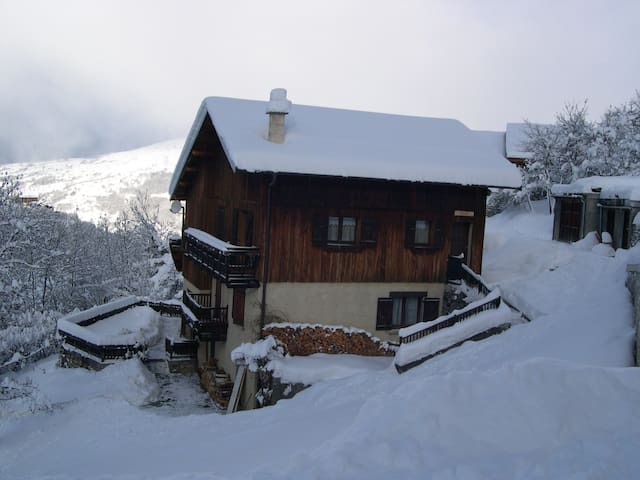 Paradiski : quiet full appartement 650 sq ft - Peisey-Nancroix - Apartamento