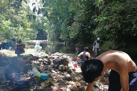 Camping Rio La paz