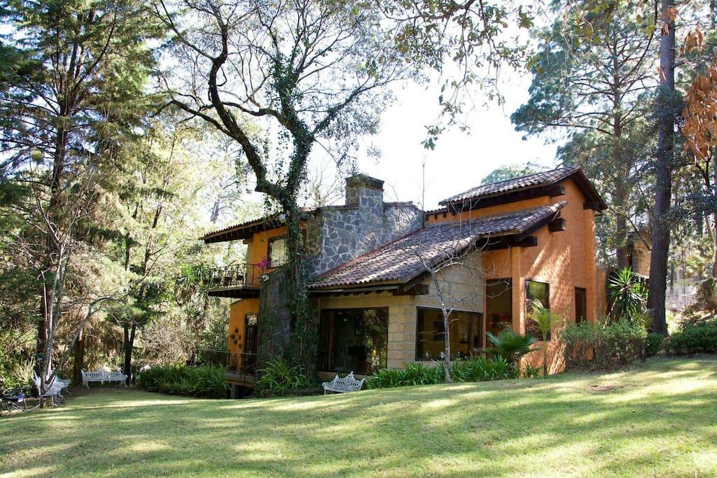 Casa estilo mexicano.