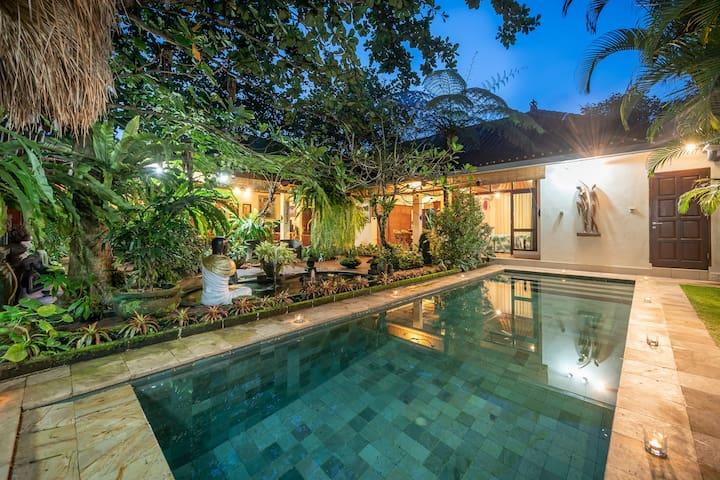 KUDA ANGIN 1 BR Private Pool Villa- Close to Ubud