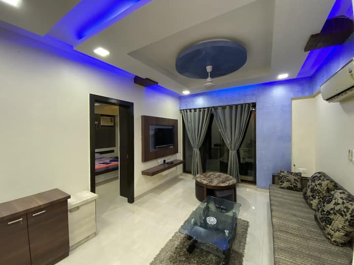 FESTIVE OFFER-Serene 2 BHK Service Apartment-VASHI