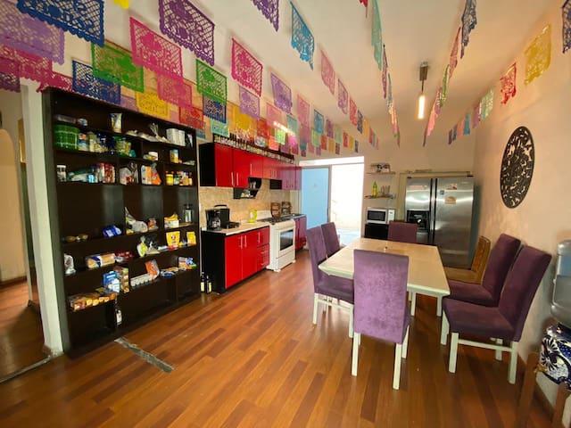 Casa Frida (habitaciones cómodas y amplias)