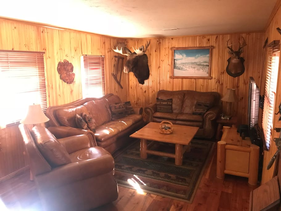 Big Bear Log Cabin With Hot Tub Chalet In Affitto A