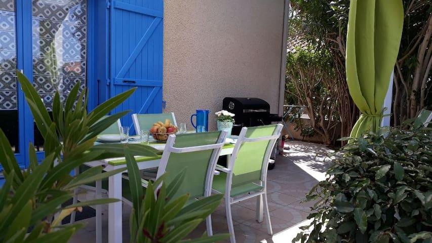 Maison cosy en bord de mer à Portiragnes Plage