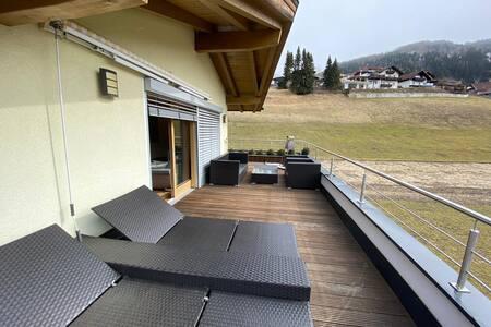 Terrassenwohnung im Stubaital/Mieders