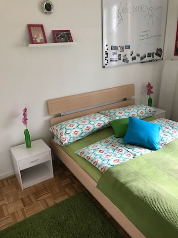 Gemütliches Zimmer in 3 Zimmer Wohnung FL Engelsby - Flensburg - Apartament