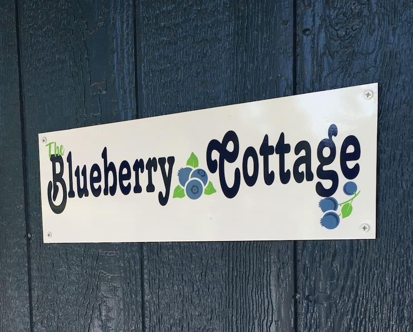 Welcome to The Blueberry Cottage- Completely Private Space