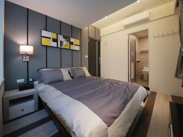 W公寓2D   全新超棒時尚藝術風格獨立衛浴套房